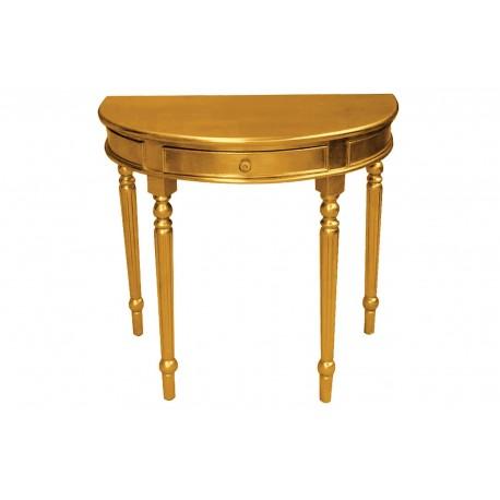 Elegancka komódka w kolorze złotym M-31 80x46x80