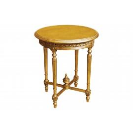 Stolik okrągły w kolorze Coutry Gold M-95 65x65x75