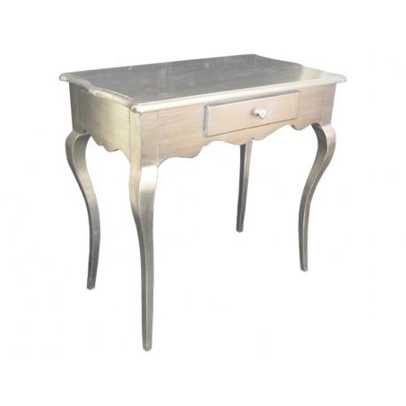 Elegancka komódka kolor srebrny 80x45x76