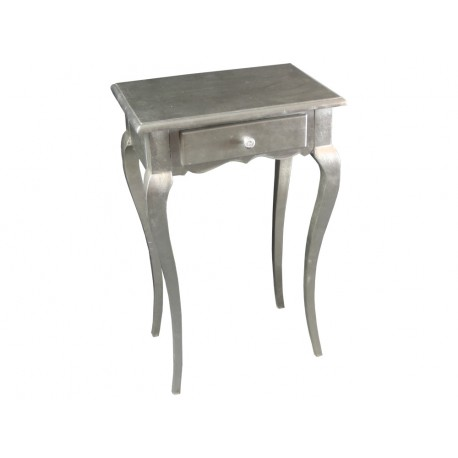 Elegancka srebrna komódka M-46 51x35x80