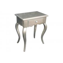 Elegancka srebrna komódka M-54 51x35x62