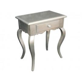 Komódka srebrny kolor 62x40x80