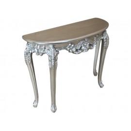 Elegancka komódka w kolorze srebrnym M-79 100x37x80