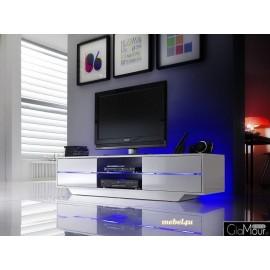 Stylowa szafka rtv BLUS z podświetleniem LED