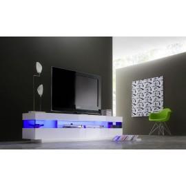 Nowoczesna szafka RTV w kolorze białym VENTO