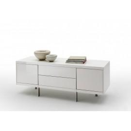 Szafka rtv BOLTON model II w kolorze białym