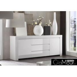 Nowoczesna komoda Amalfi model II w kolorze białym