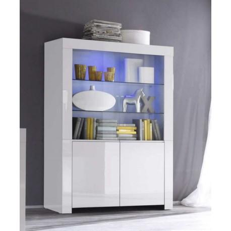 Stylowa komoda-kredens Malia model V biały kolor