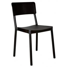 Krzesło Lisboa czarne