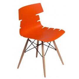 Krzesło Techno DSW pomarańczowe