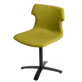 Krzesło Techno One tapicerowane oliwka