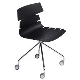 Krzesło Techno Roll czarne