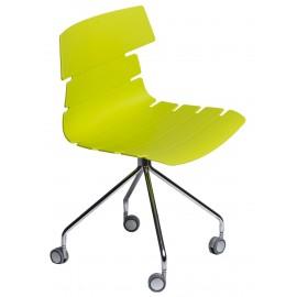 Krzesło Techno Roll zielone