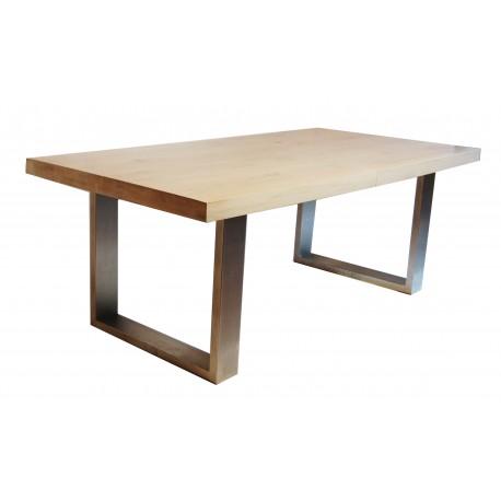 Casto stół z litego dębu rozkładany 100x160-220