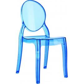 Krzesło Mia niebieki transp