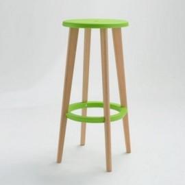 Stołek barowy Lush zielony