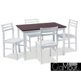 Zestaw Tromso-stół i krzesła