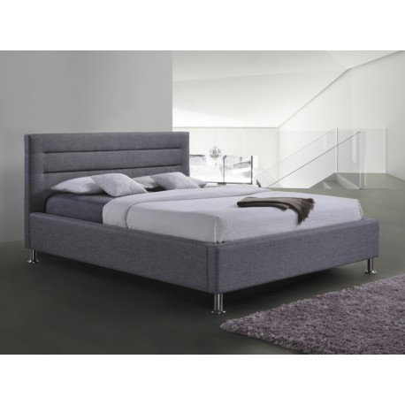 Łóżko LIDEN kolor szary