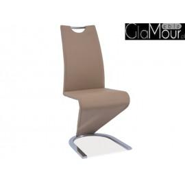 Krzesło H-090 chrom beż