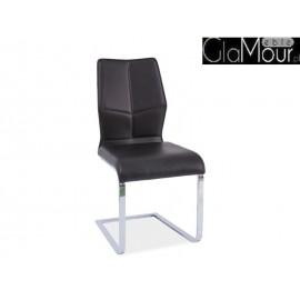 Krzesło H-422 w kolorze czarnym