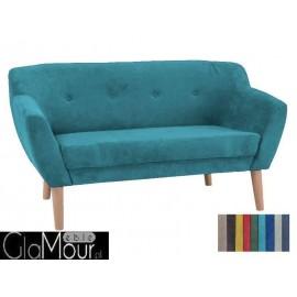 Sofa Bergen 2 w kolorze turkusowym