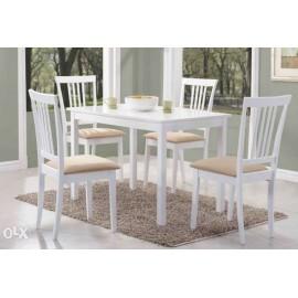 Stół Fiord w kolorze białym