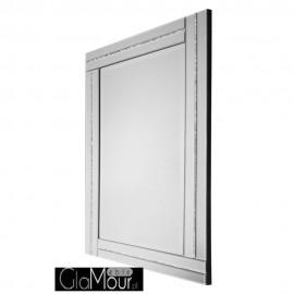 Lustro Ariana 80x120 ze szklaną ramą