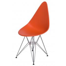 Krzesło Rush DSR pomarańczowe