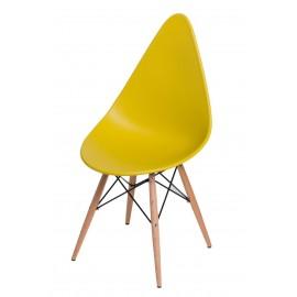 Krzesło Rush DSW oliwkowe