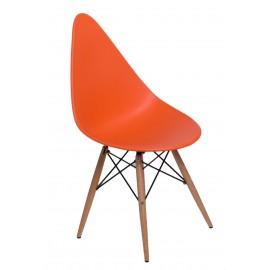 Krzesło Rush DSW pomarańczowe
