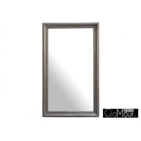 Lustro ozdobne Elite country silver 150x90