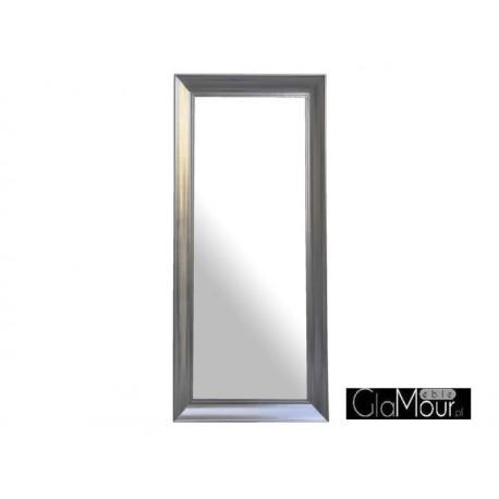 Lustro Horizon silver110x90cm