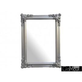 Lustro Orient silver 120x90cm