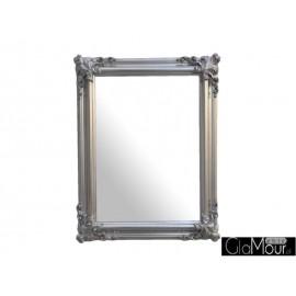Lustro Orient silver 90x70cm