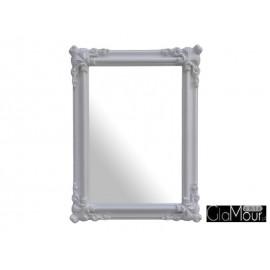 Eleganckie lustro Orient white 120x90