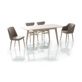 Stół Combo II-dąb bielony