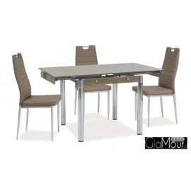 Elegancki stół GD-083 biały/chrom