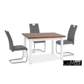 Stół SK-1 kolor dąb sonoma/biały