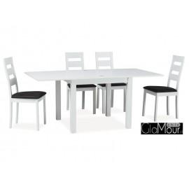Elegancki stół Vento kolor biały