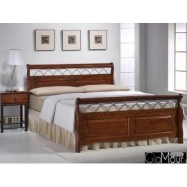 Łóżko Verona 160x200 czereśnia antyczna