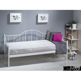 Łóżko Dover kolor biały