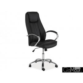 Fotel obrotowy Q-036 brązowy