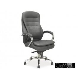 Fotel obrotowy Q-036 szary