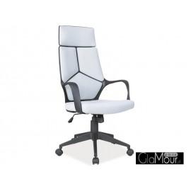 Fotel Obrotowy Q-199 niebieski-czarny