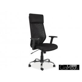 Fotel Obrotowy Q-211 czarny