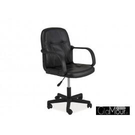 Fotel obrotowy Q-074 czarny