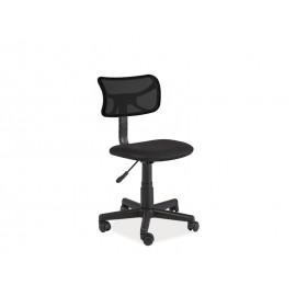 Fotel obrotowy Q-014 czarny