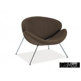 Fotel Major brązowy