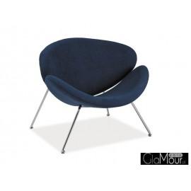 Fotel Major niebieski