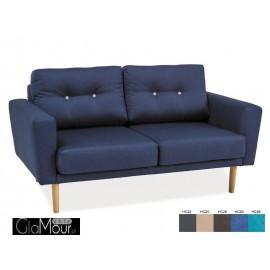 Sofa Cameron II granatowa